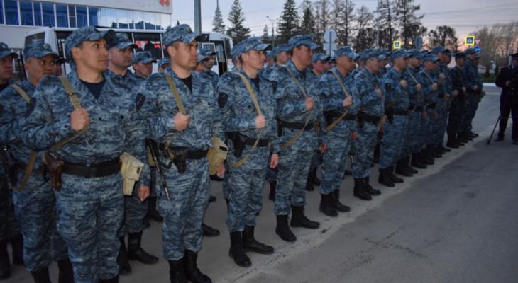 Чувашские полицейские вернулись с Северного Кавказа