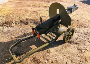 Житель Шимановска продает макет пулемета «Максим»