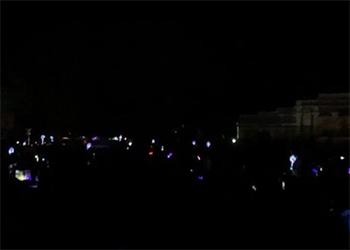 Салют Победы в Белогорске прогремел в полной темноте