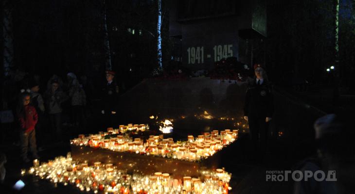 Две тысячи новочебоксарцев поставили свечи памяти героям войны