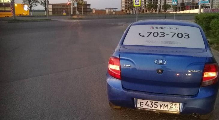 В Чебоксарах таксиста повторно поймали пьяным за рулем