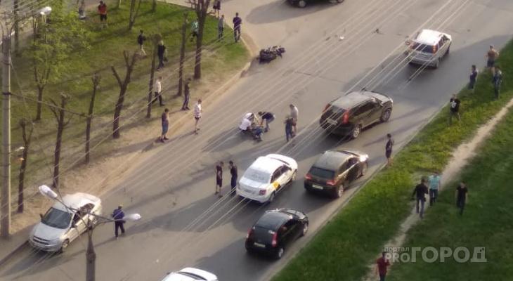 В Новоюжном районе сбили мотоциклиста