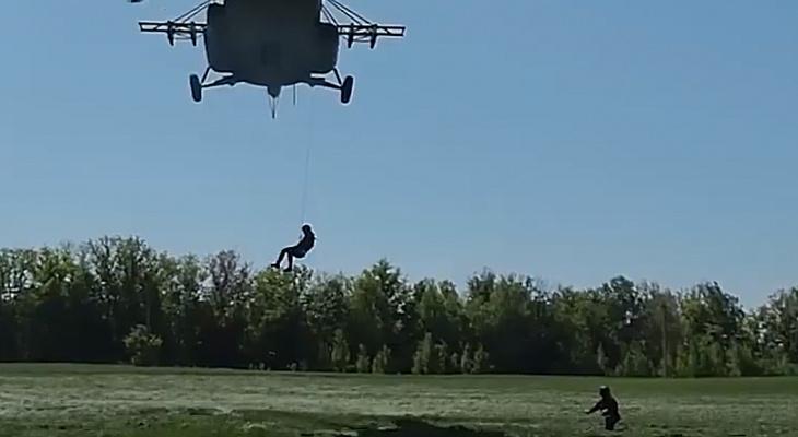 В Цивильском районе прошла тренировка по десантно-штурмовой подготовке