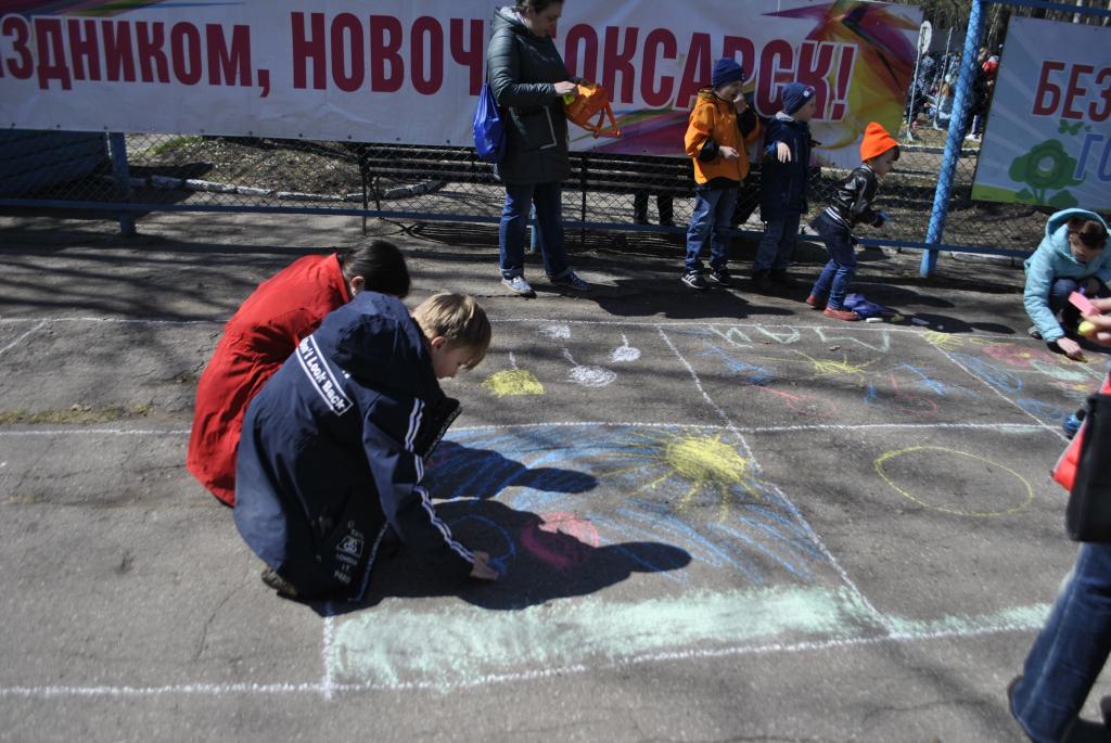 Первомай в Новочебоксарске отметили в парке открытием сезона