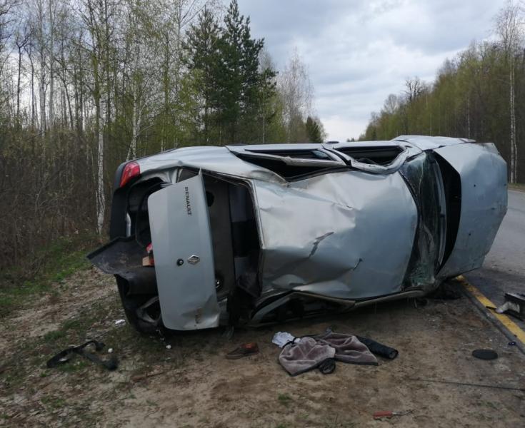 В Алатырском районе разбился водитель, его сыновья в больнице