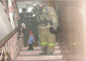 В Свободном загорелось общежитие