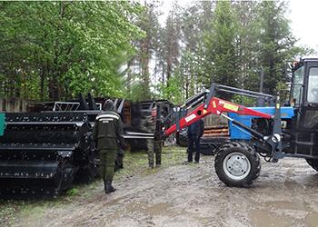 Амурская область встречает новую лесохозяйственную технику