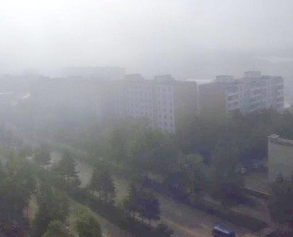 Тынду вновь заволокло дымом
