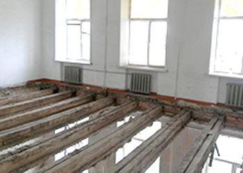 Второй этап ремонтных работ начался в аварийной школе Белогорска