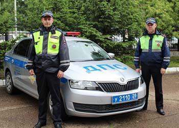 Амурчанин поблагодарил полицейских за штраф