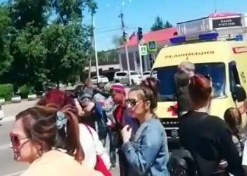 ЧП в Белогорске: во время «Мотослалома» пострадали двое детей