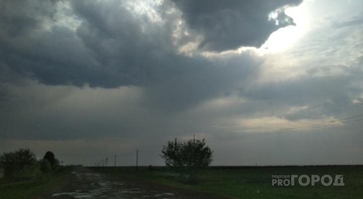 В воскресенье ночью жителей Чувашии ждет небольшой дождь