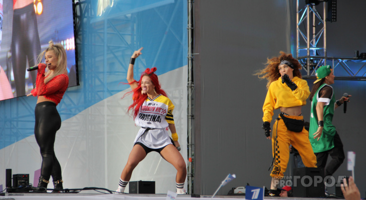 В Чебоксарах акция Первого канала завершилась гала-концертом