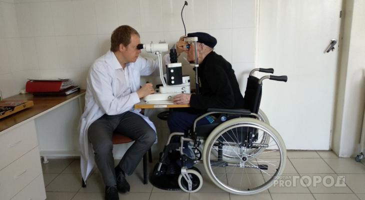 Столетнему незрячему мужчине в Чебоксарах вернули зрение