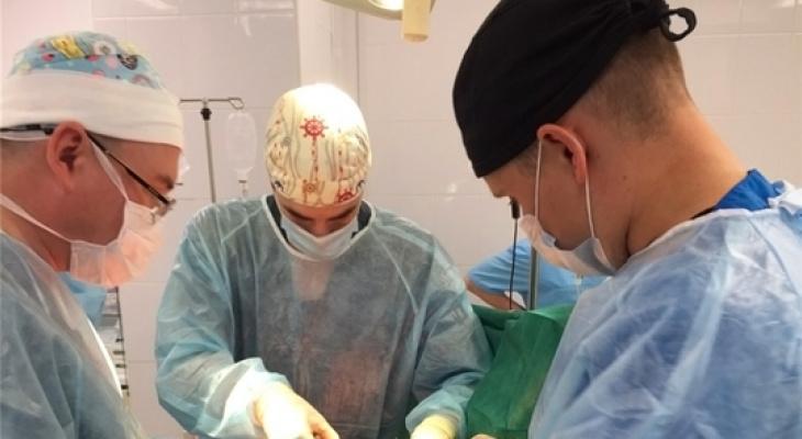 Пациенту в Чувашии удалили опухоль весом 20 килограммов