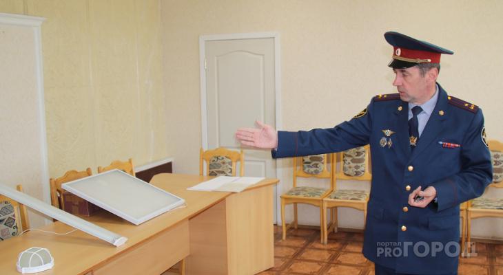 Сотрудники новочебоксарской колонии №6: