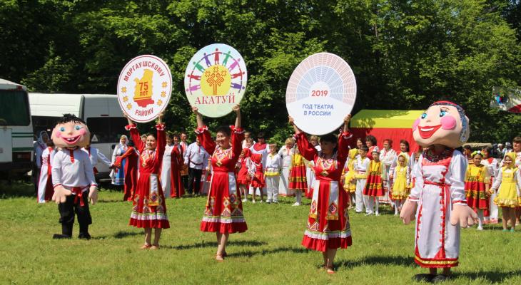 В Моргаушском районе прошел национальный праздник