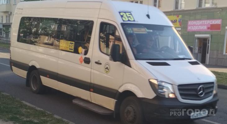 В Чебоксарах маршрутки №35 оштрафовали на 50 тысяч рублей