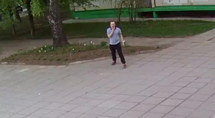 Шатающийся на видео мужчина разыскивается по подозрению в преступлении