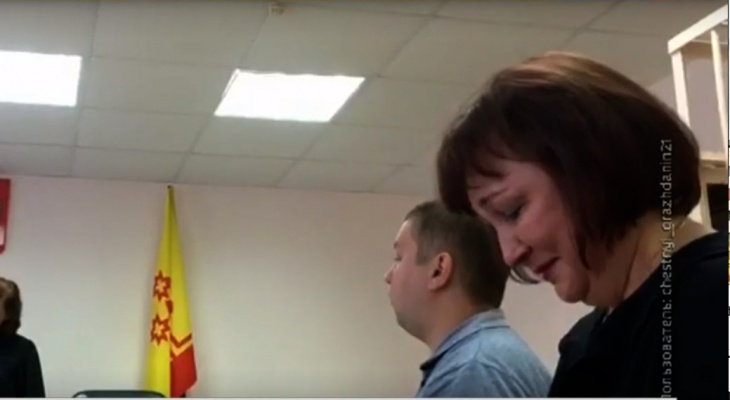 Бывший мэр Чебоксар заплакала на оглашении приговора