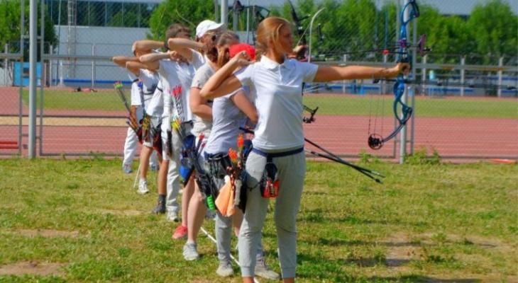 День здоровья, Чемпионат по стрельбе из лука и маунтинбайк-гонка с выбыванием