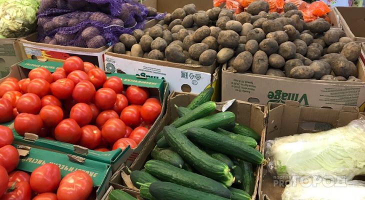 В Чувашии подешевели помидоры, куриные яйца и сахар