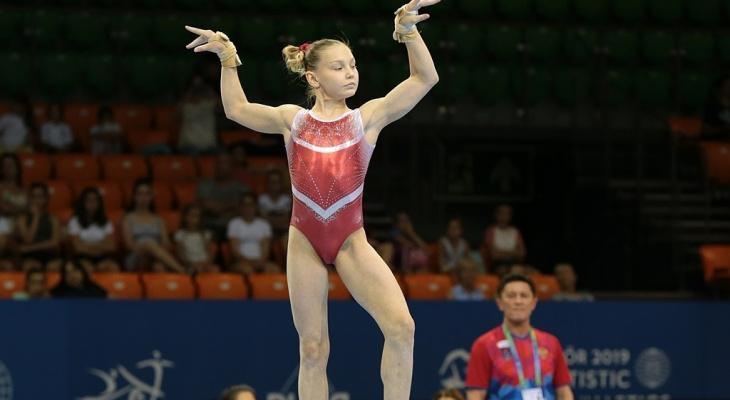 Гимнастка из Чувашии привезет домой золотую медаль