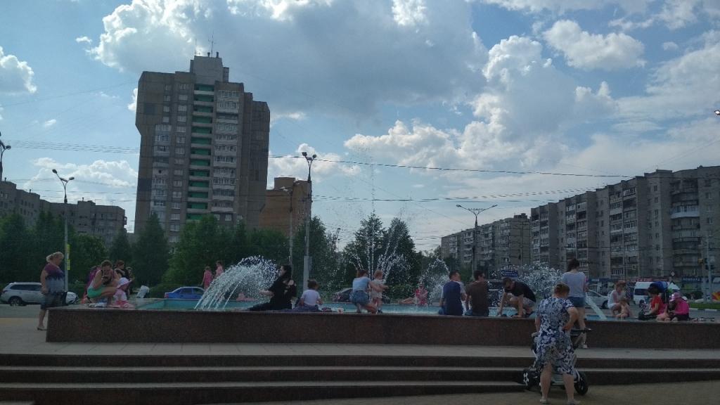 Стало известно время работы чебоксарских фонтанов этим летом