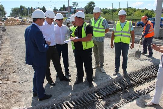 Алексей Ладыков наведался на строительные работы Сугутского моста