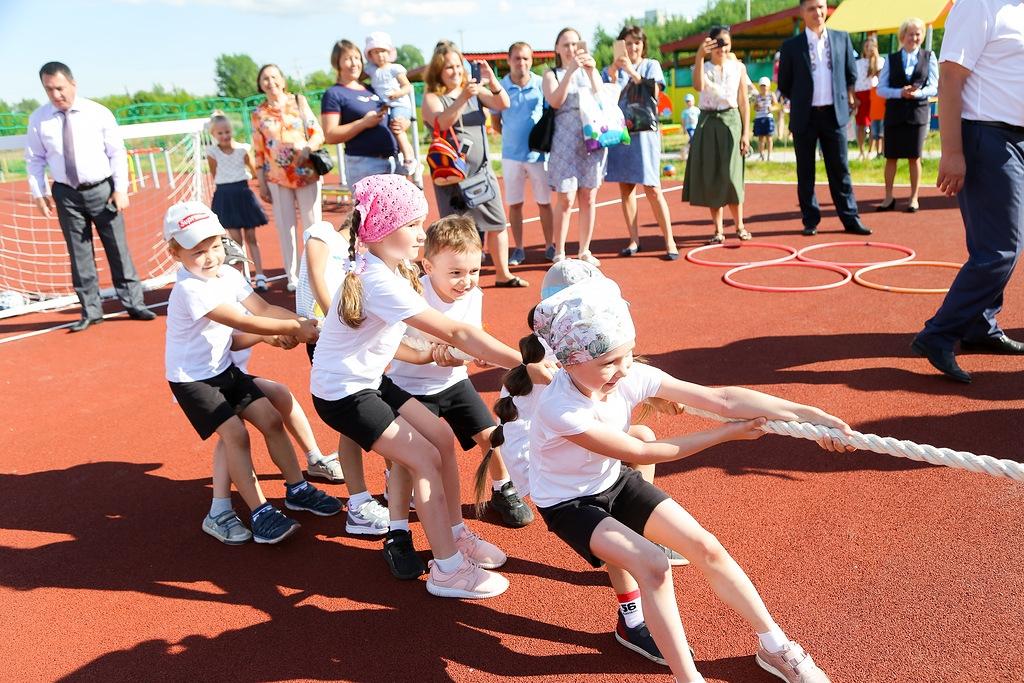 В Соляном открылся детский сад на 200 мест