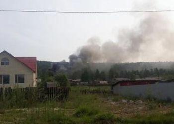 В одной из саун Тынды произошел пожар