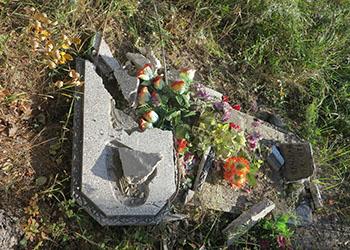 Двоих братьев осудили за разгром кладбища в Бурейском районе
