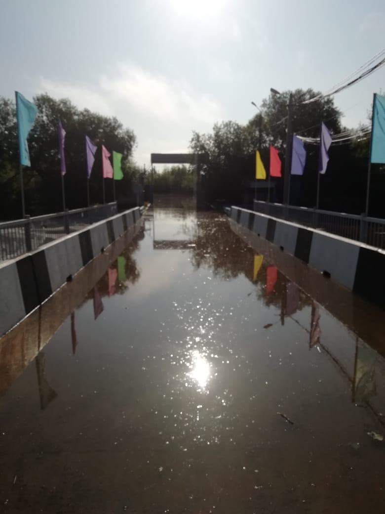 Детский лагерь «Колосок» в Благовещенске оказался в воде
