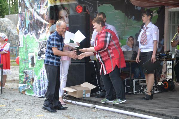 В поселке Ларба прошел фестиваль в честь 45-летия БАМа