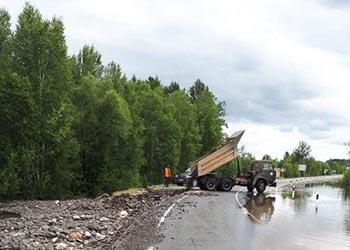 Движение по федеральной трассе возле села Невер открыли