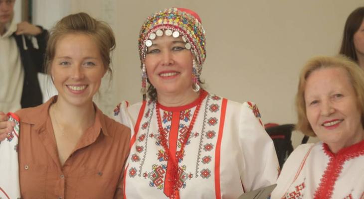 Семья Тенче встретилась с питерскими чувашами