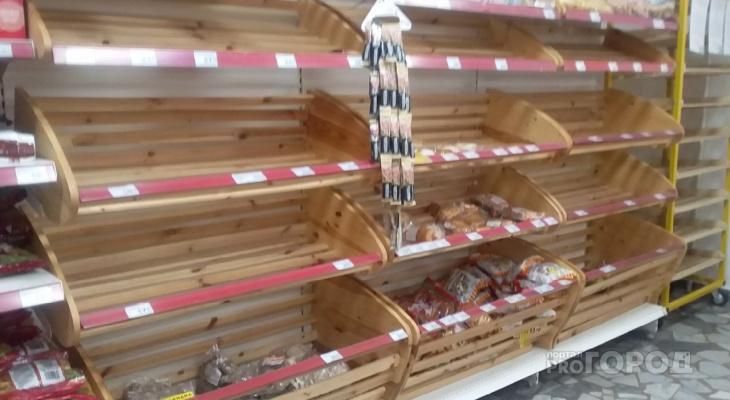 Горожане переживают, что на прилавках магазинов в Чебоксарах стало мало хлеба