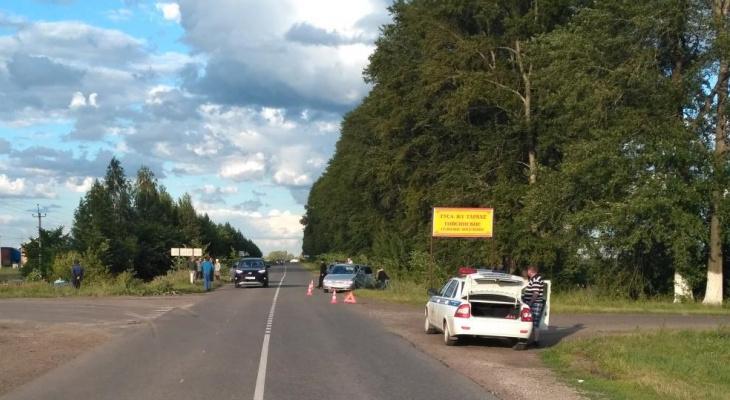В Батыревском районе пять человек пострадали в ДТП