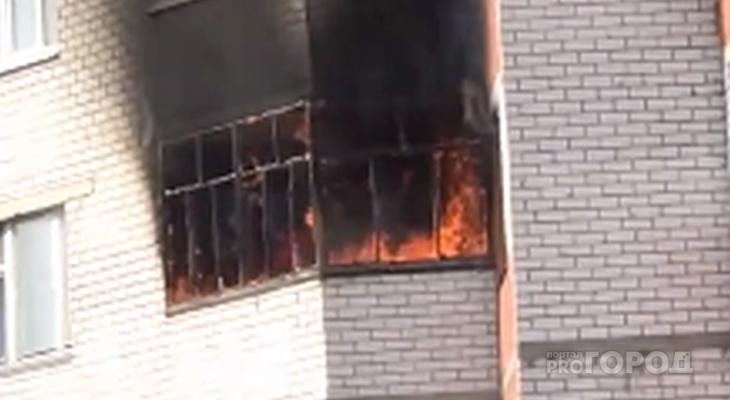 В МЧС назвали причину пожара в квартире в Новоюжном районе