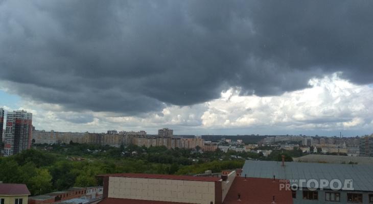 В Чувашии в первый рабочий день ожидаются дожди и грозы