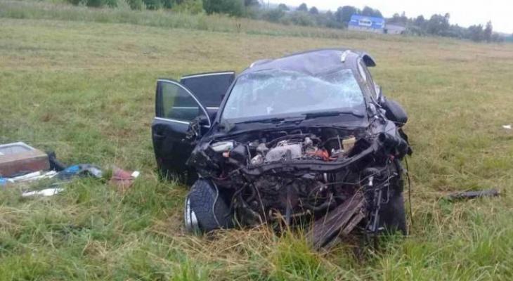 Водителя Audi Q7 задержали после побега с места ДТП