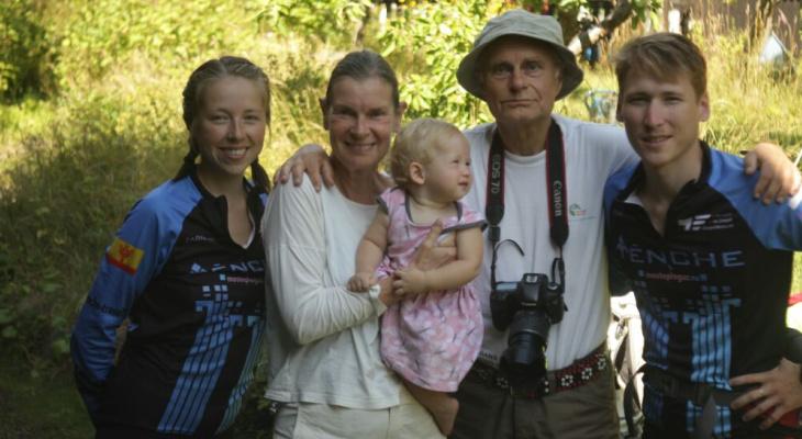 В Стокгольме пожилая пара приняла семью Тенче