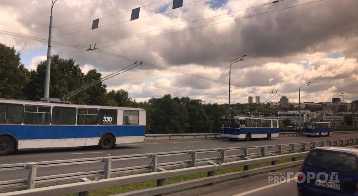 В Северо-Западном районе встали троллейбусы