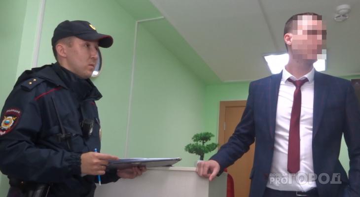 В Чебоксарах торговца газоанализаторов доставили в полицию