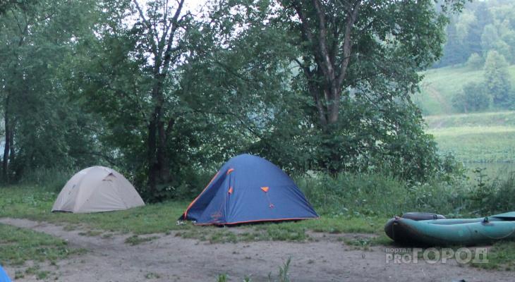 В Чувашии нашли незаконный детский выездной лагерь