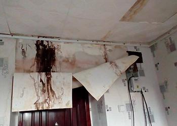Жильцам залитых дождем квартир в Благовещенске возместят ущерб