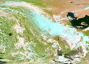 Роскосмос получил первый снимок с запущенного с Восточного спутника