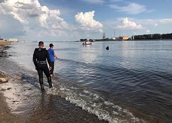 В Благовещенске утонул молодой человек