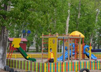 В двух селах Благовещенского района появятся детские площадки