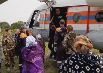 Жители Норска возвращаются в село
